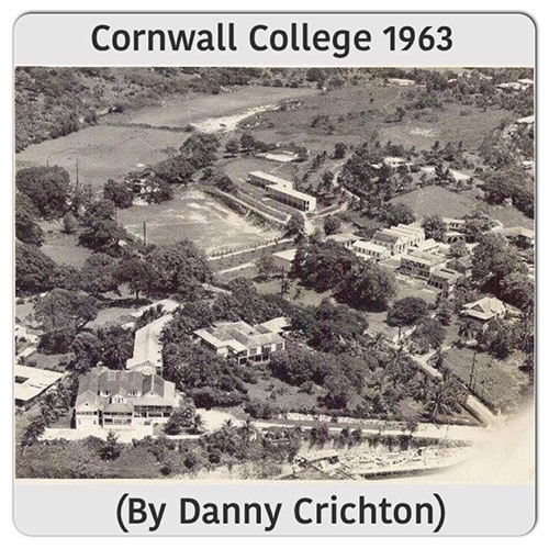 Cornwall College grounds in 1963